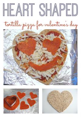 Heart Shaped Pizza !