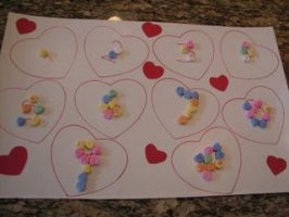 How Do I Love Thee? Valentine Counting Activity