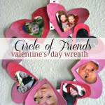 Photo Wreath – Valentine's Day Kids Craft