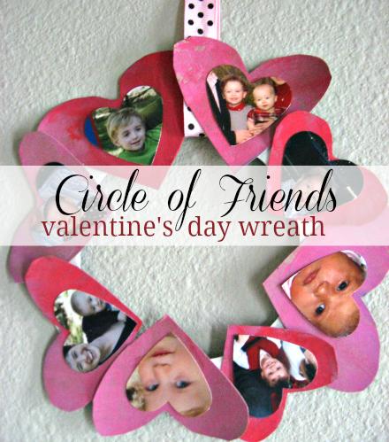 valentine's day heart wreath
