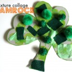 Toddler Friendly Shamrock Craft