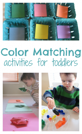 Color Matching Activities For Toddlers
