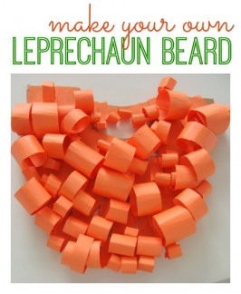 Leprechaun Craft – Make A Beard