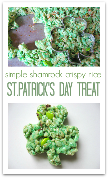 shamrock treat for st.patrick's day