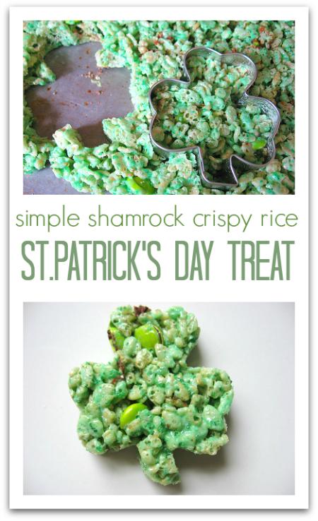 shamrock treat for st.patrick's day