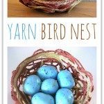 Yarn Bird Nest Craft