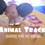 Animal Track Painting