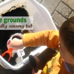 Earth Friendly Sensory Tub