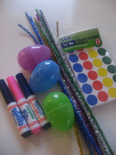 Plastic Egg Crafts & Activities