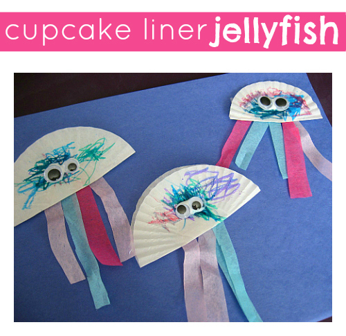 Jellyfish Craft No Time For Flash Cards