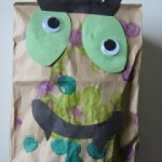 Paper Bag Monster Craft !