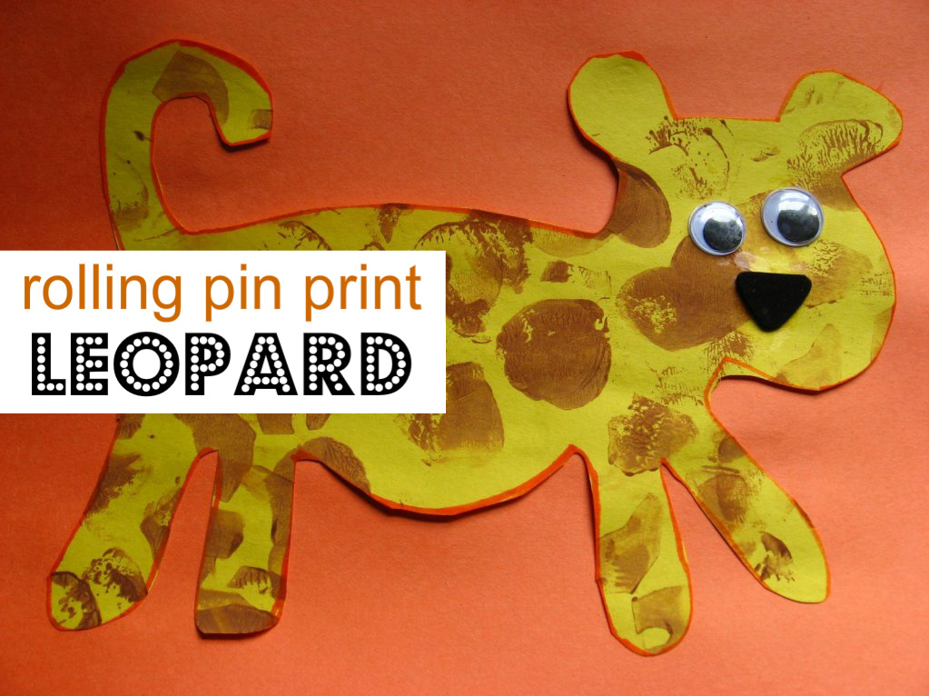 Leopard craft no time for flash cards