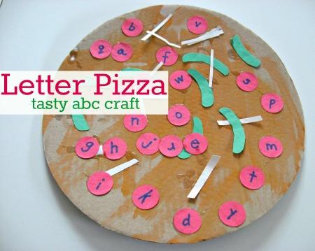 letter recognition crafts for kids
