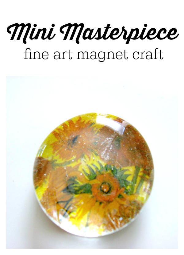 mini masterpiece fine art craft for kids