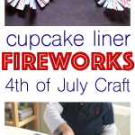 Fireworks Craft – 4th of July Craft