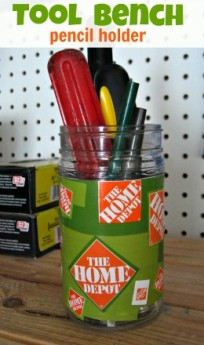 home depot decoupage