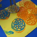 Potato Masher Prints – Art Project For Toddlers