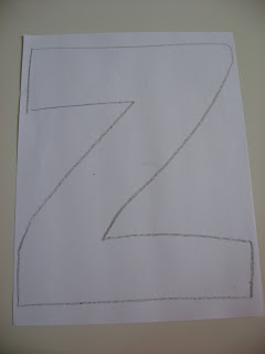 Letter of The Week Z!