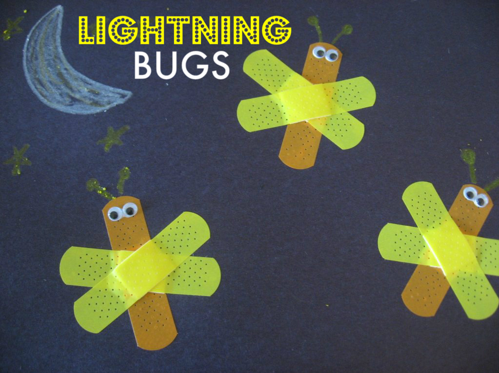 bandage lightning bugs no time for flash cards