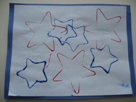 Easy 4th Of July Craft