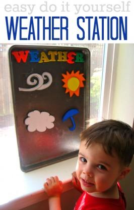 weather activity for preschool