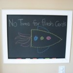 DIY Framed Chalkboard !