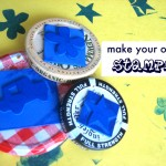 DIY Jar Lid Stamps
