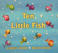 Letter of the week f no time for flash cards for Ten little fish