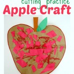 Apple Craft For Preschool