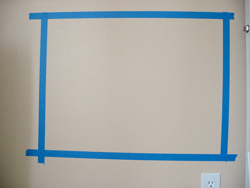diy framed chalkboard for playrooms