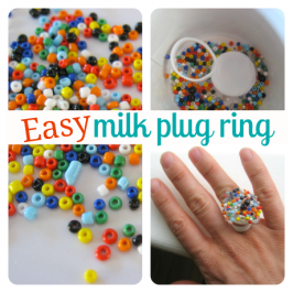 Milk Carton Plug Ring