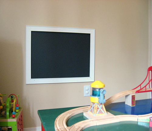 playroom homeschool room chalkboard