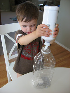 Recycled Rocket Craft