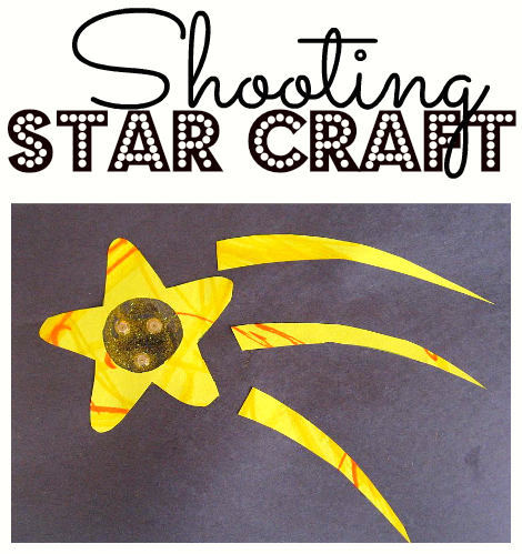 Shooting Star Craft No Time For Flash Cards