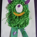 Messy Monster Craft