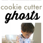 Easy Halloween Craft – Cookie Cutter Ghosts