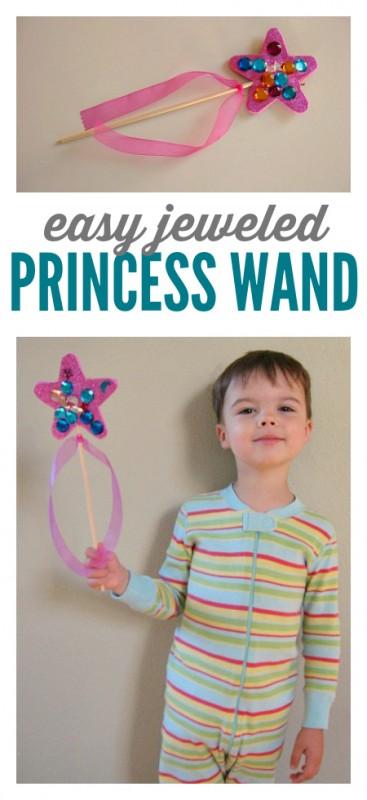 princess wand craft