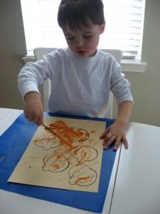 Pumpkin art project