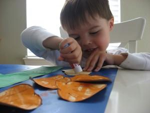 Pumpkin kids craft