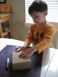 Making A Thanksgiving Kids Craft