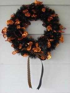Halloween Wreath 003
