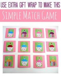 cupcake memory game