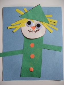 Shape Scarecrow Craft
