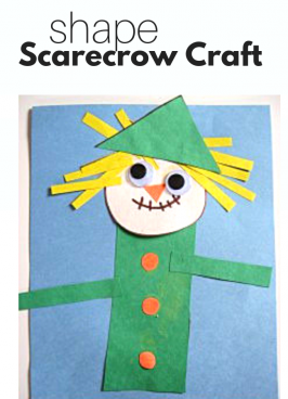 Shape Scarecrow Craft