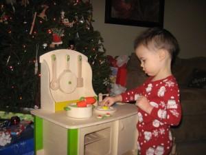 Santa hit the jackpot with this kitchen!