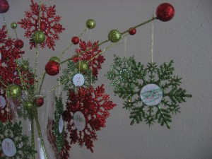 Christmas advent craft