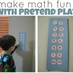 Pretend Play = Learning { DIY Elevator}