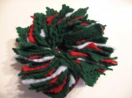 DIY Felt Wreath Ornament