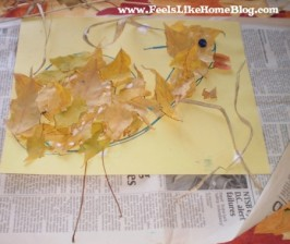 Fall Leaf Craft !