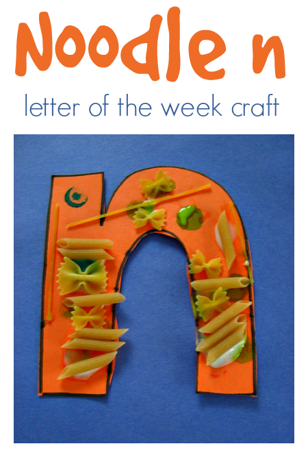 letter of the week craft letter n